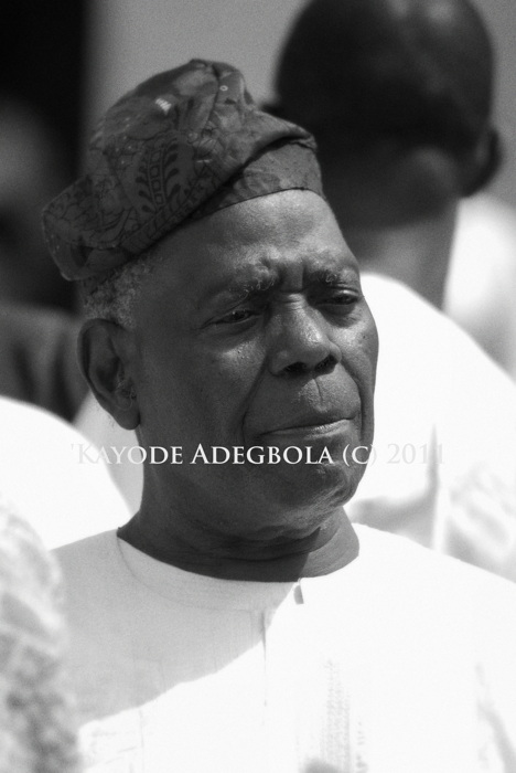 photoblog image Chief Bisi Akande, Political Photojournalism Series