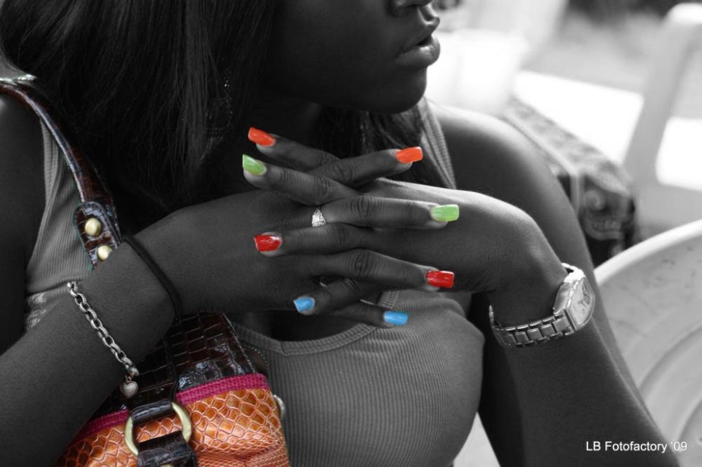 photoblog image Coloured Nails