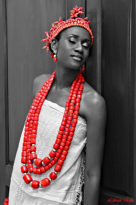 photoblog image A pretty Igbo bride