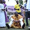 Humbled groom