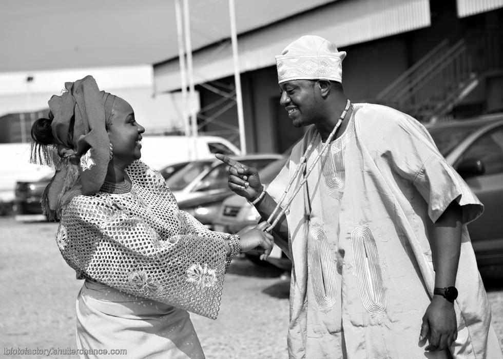photoblog image Adeola & Akin