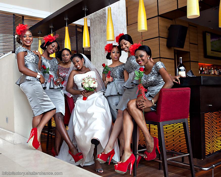 photoblog image Bridesmaids