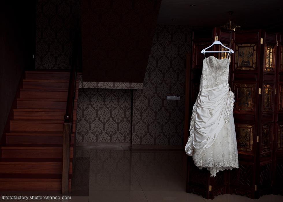 photoblog image Bridal dress