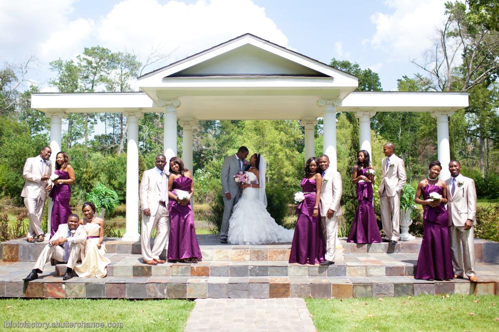 photoblog image Bridal train