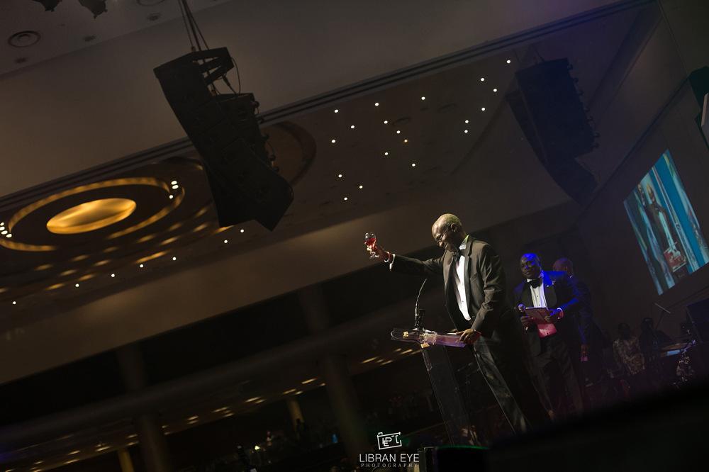 photoblog image Ex Governor BRF giving a toast