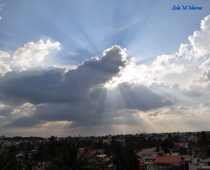 photoblog image Light of God