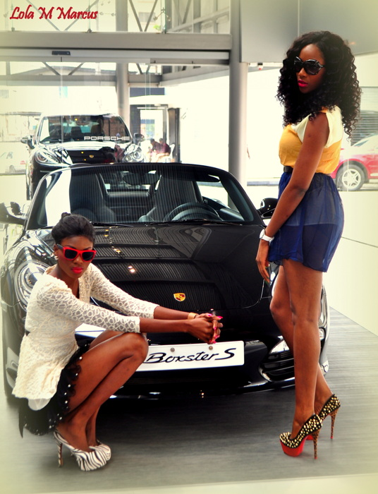 photoblog image Fast cars and beautiful women...