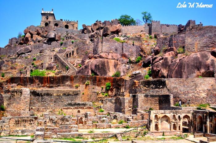 photoblog image Golconda Fort... India