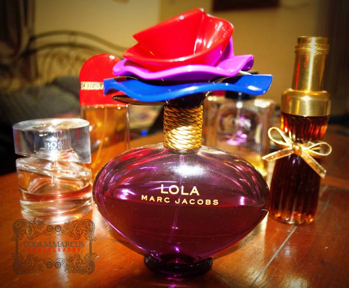"photoblog image ""You are never fully dressed without perfume!"