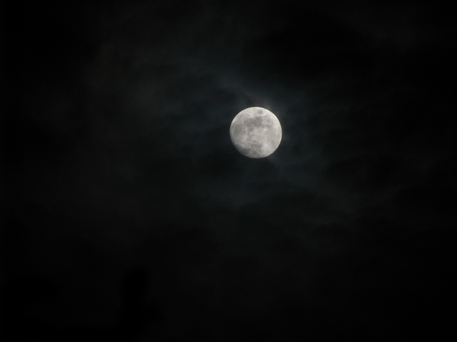photoblog image full moon