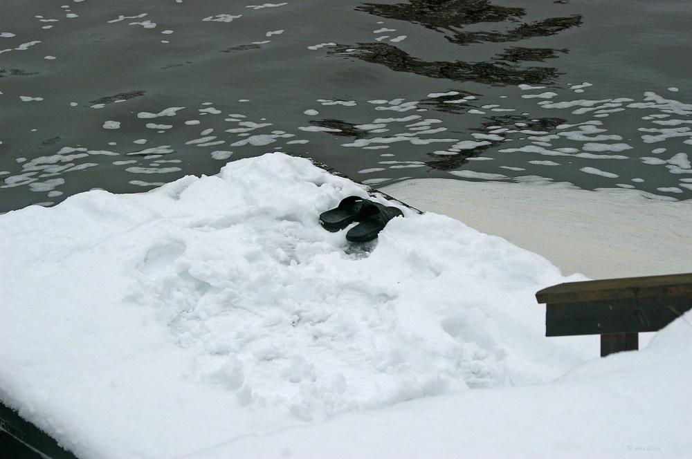 photoblog image Vinterbadare - Winterswimmer