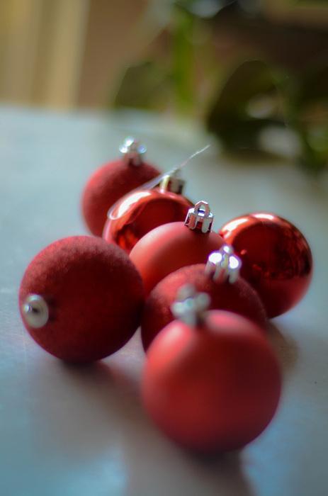 photoblog image Julgranskulor - Christmas ornaments