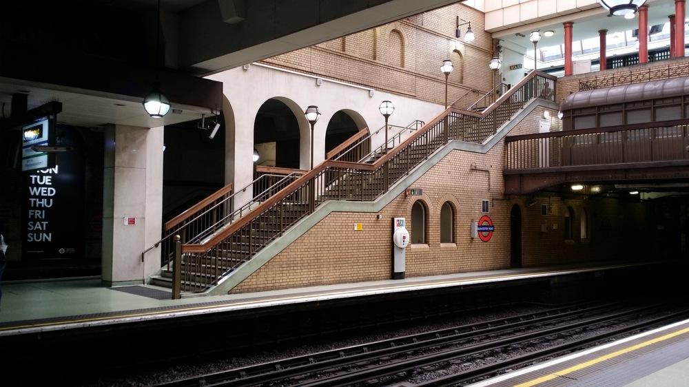 photoblog image Gloucester road underground station