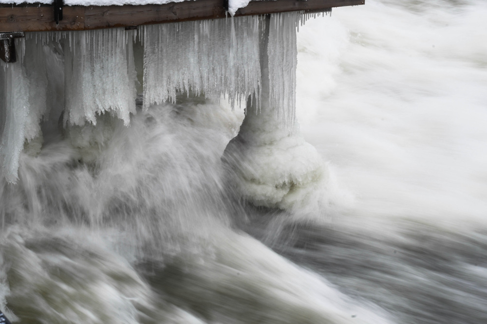 photoblog image Vatten och is - Water and ice