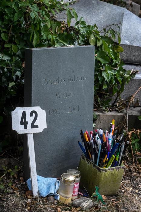 photoblog image Douglas Adams (1952-2001)