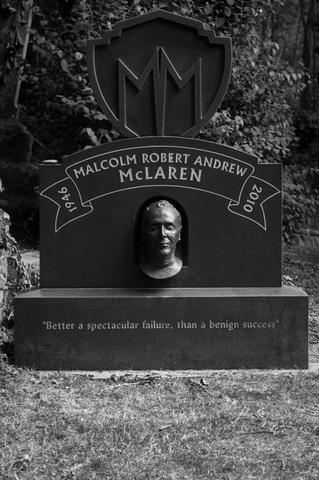 photoblog image Malcolm McLaren (1946-2010)