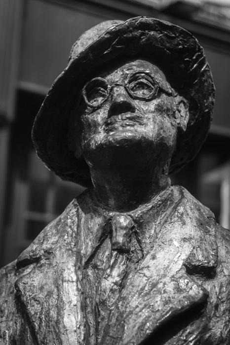 photoblog image James Joyce