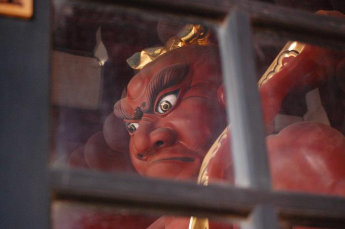 photoblog image Hondoji Temple statue