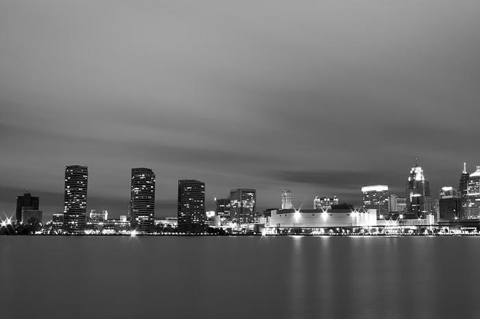 photoblog image Detroit Skyline