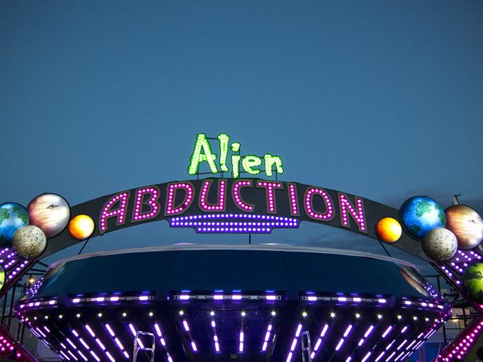 photoblog image Alien Abduction