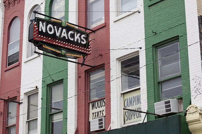 photoblog image Old Sign