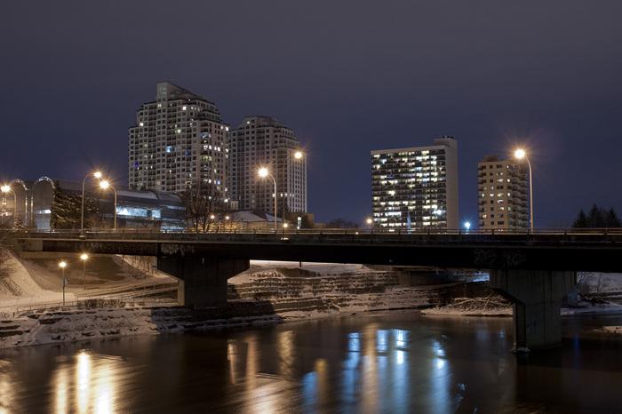 photoblog image Across The Bridge