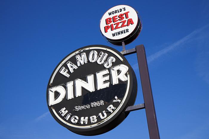 photoblog image Famous Diner