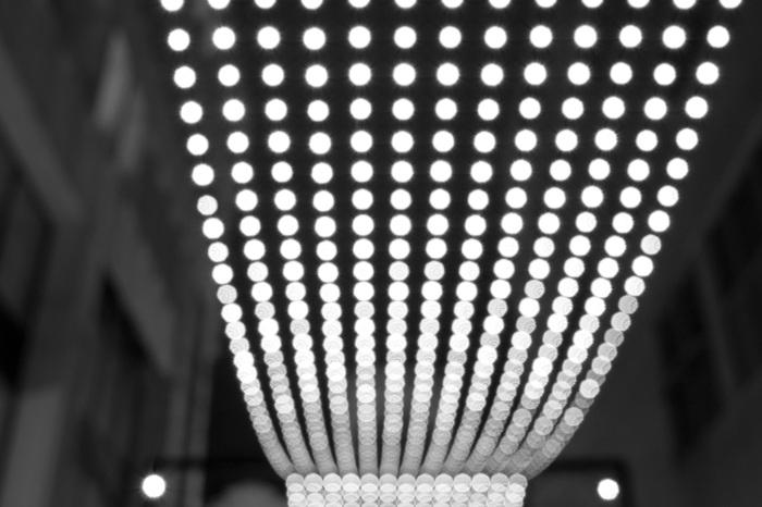 photoblog image Pathway Lights
