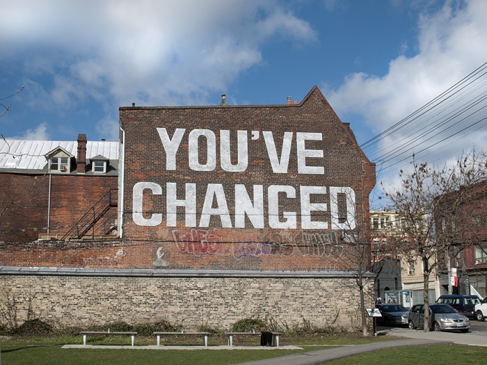 photoblog image Change