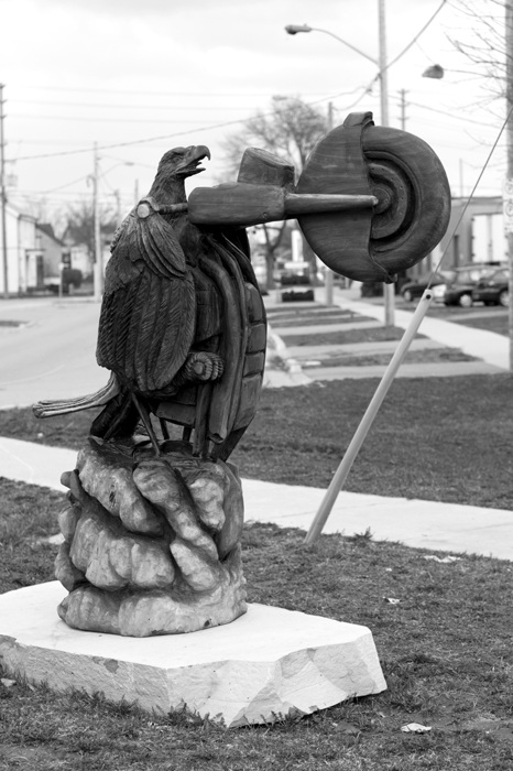 photoblog image Wheelie-ing Eagle - Go 'Murica!!!