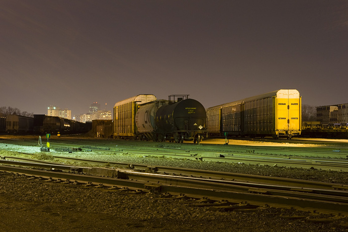 photoblog image Nocturnal Freight