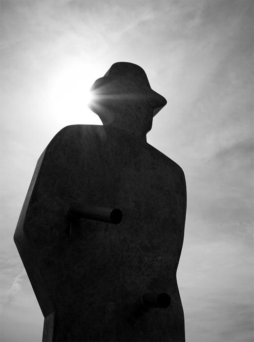 photoblog image Shadowman