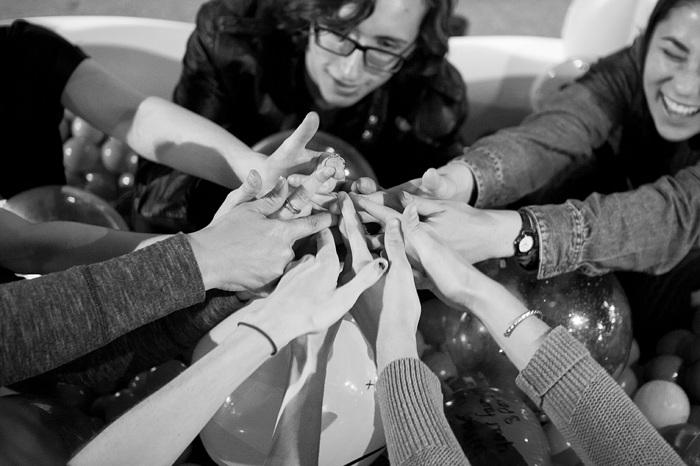 photoblog image Secret Handshake