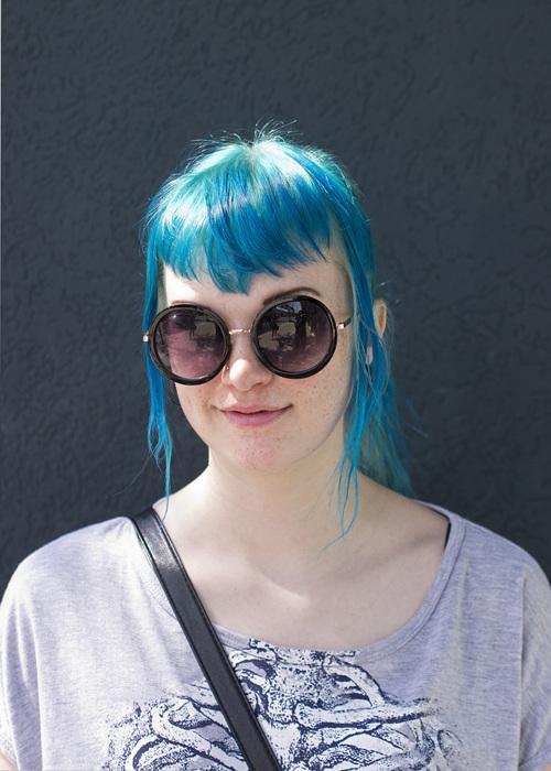 photoblog image Stylin' In Blue
