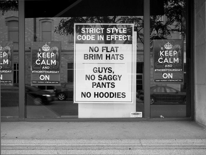 photoblog image Dress Code