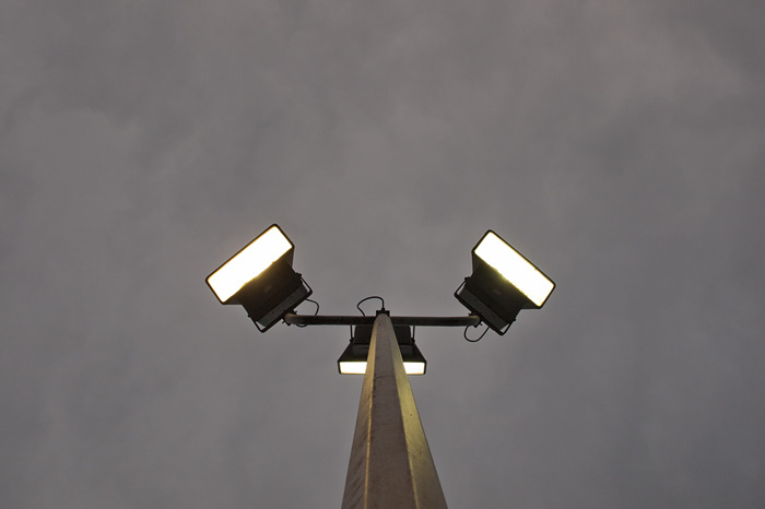 photoblog image Lights On