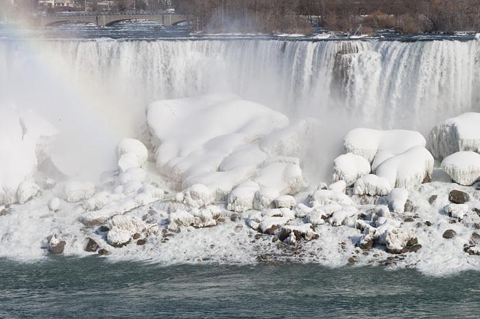 photoblog image Niagara Falls Freezing Up