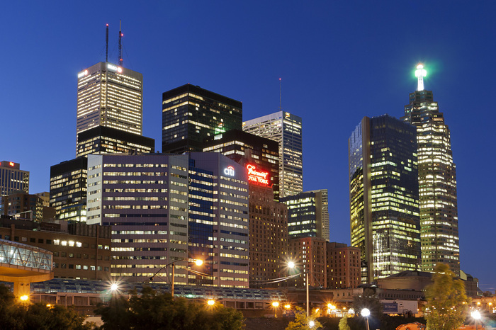 photoblog image Toronto Towers