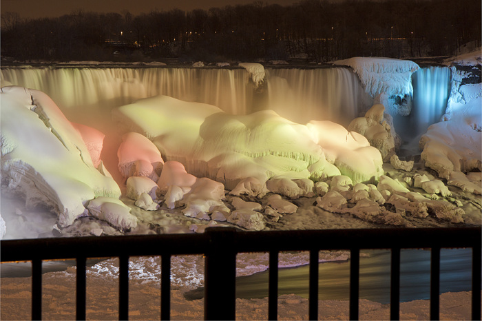 photoblog image Frozen Falls