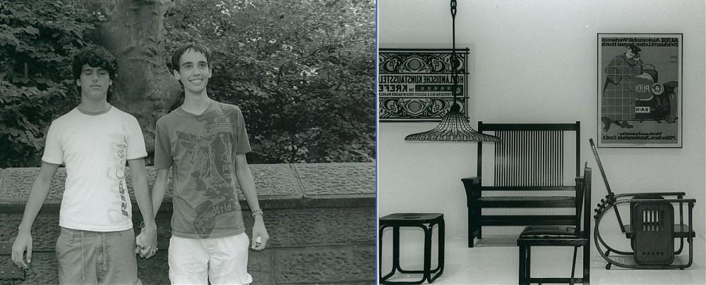 photoblog image The Boys (Moses & Abraham)  & @ MoMA #3