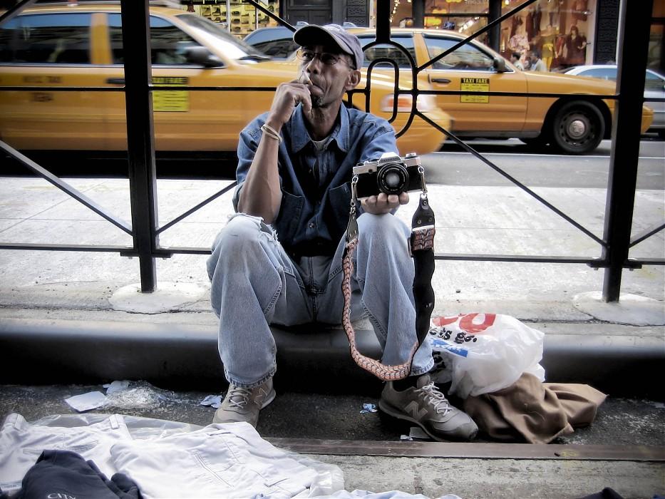 photoblog image N.Kama 'The Snapper'. New York, 2007