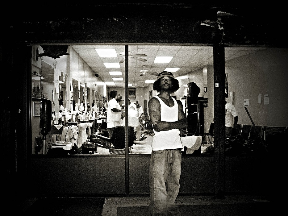 photoblog image N. Kama 'Ain't 2 Proud 2 Beg'. New York '07