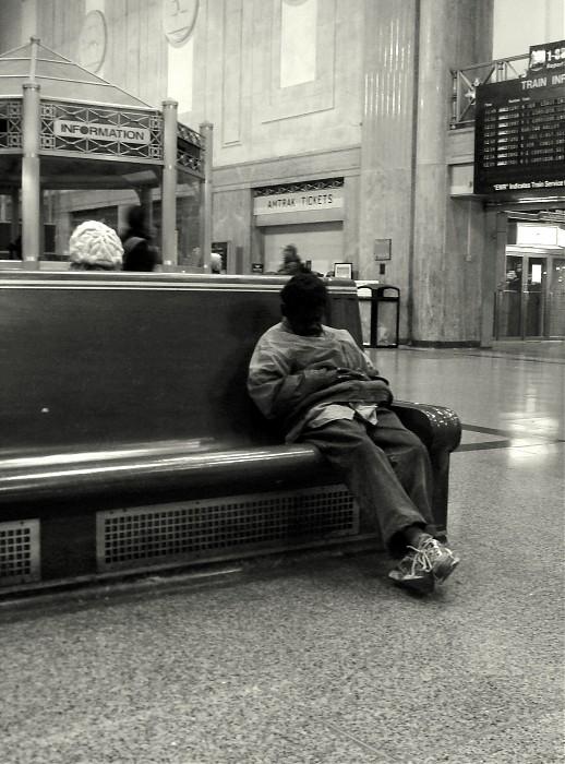 photoblog image N.Kama. 'Homeless #3.'  New Jersey, 2007