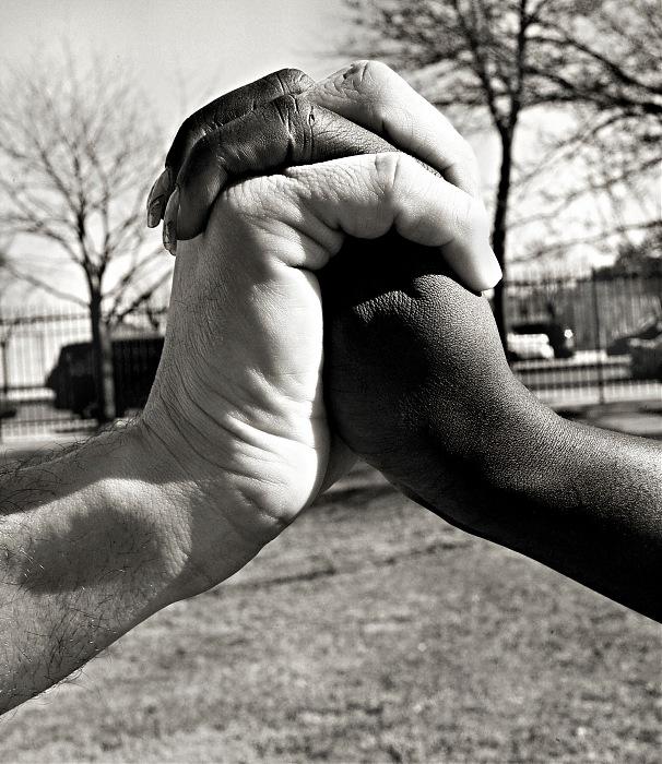 photoblog image N.Kama 'Against Racism.' New York 2008