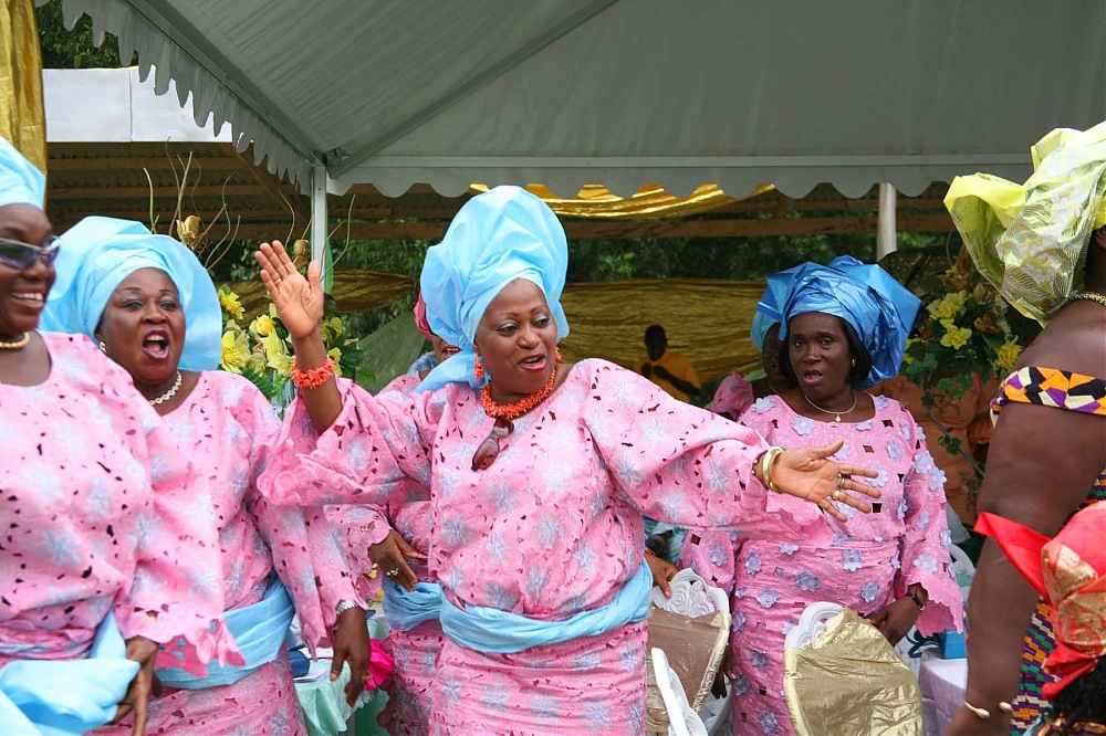 photoblog image N.Kama 'Wedding #8'. Ghana, 2008