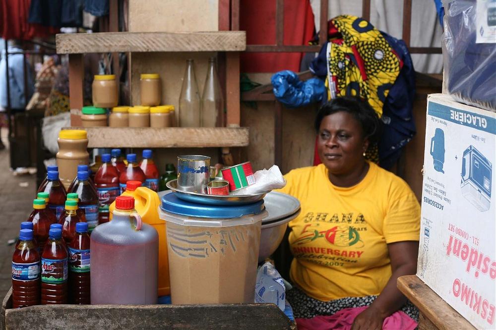photoblog image N.Kama 'Market Woman'. Accra, Ghana, 2008