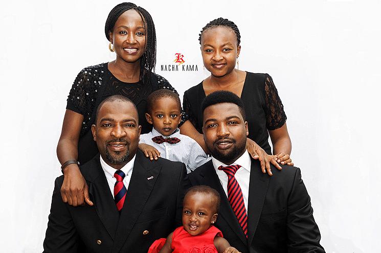 photoblog image Meet The Kwandes. A Family Portrait II. Abuja, 2014.