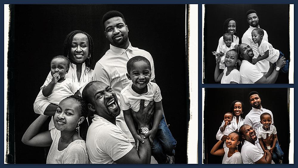 photoblog image Meet The Kwandes. A Family Portrait I. Abuja, 2014.