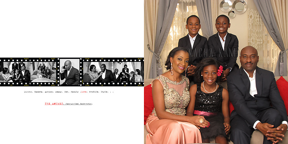 photoblog image The Amurre's. A Family Portrait. Lagos, 2016.