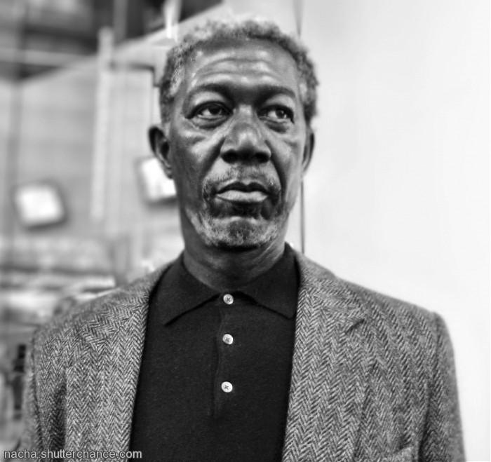 photoblog image Morgan Freeman